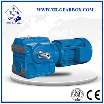 S  series helical worm gear speed reducer