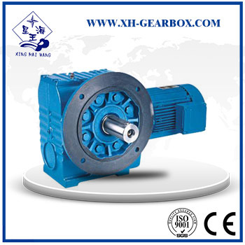 SF  series helical worm gear speed reducer