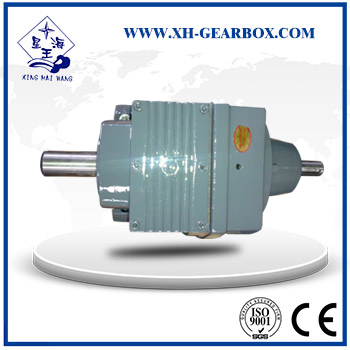 RS series single helical gear reducer