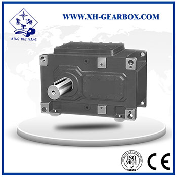 H series parallel shaft gearbox